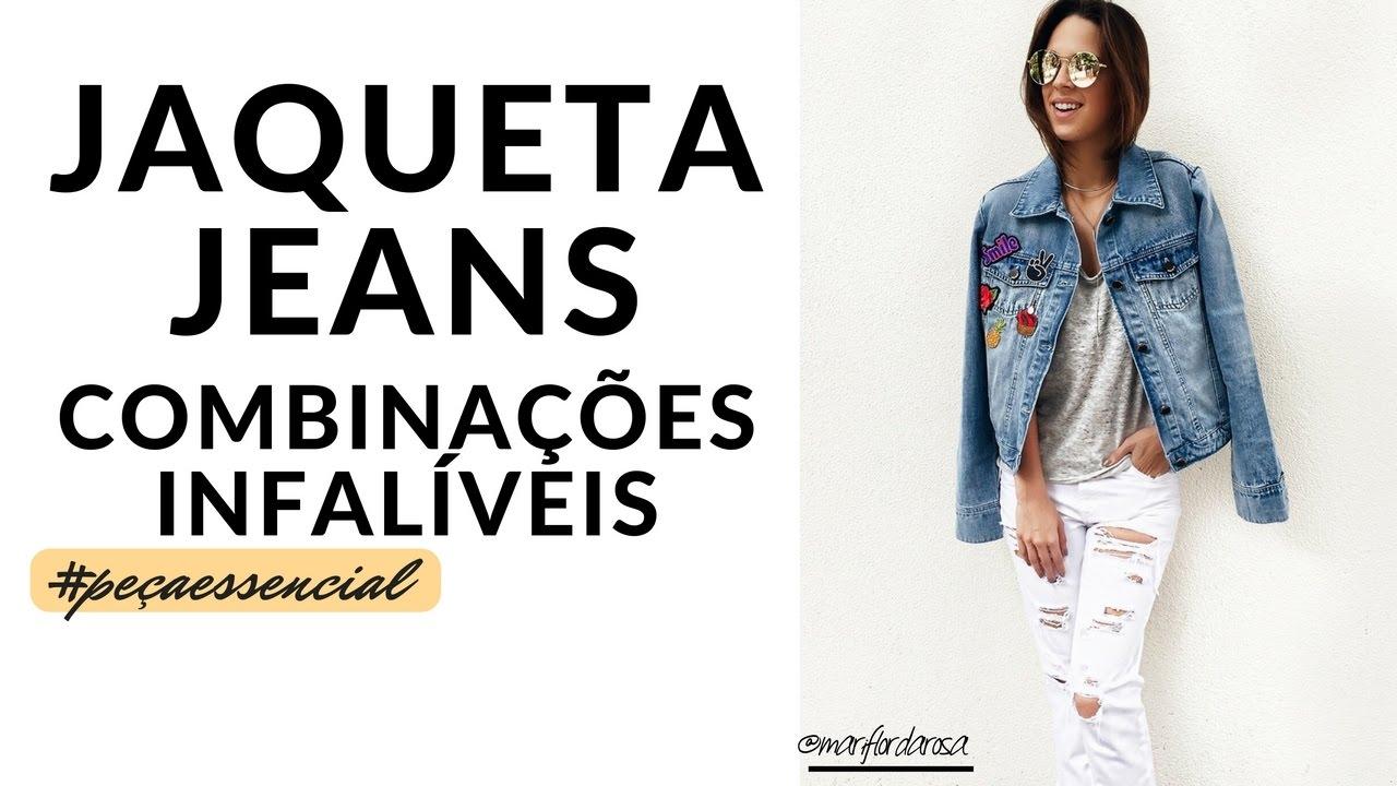 Resultado de imagem para Closet da Mari jaqueta jeans
