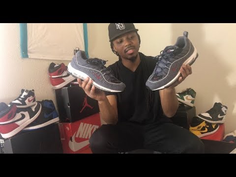 ff9167e27c7c Nike Air Max 98 Thunder Blue   Denim unboxing Review - YouTube