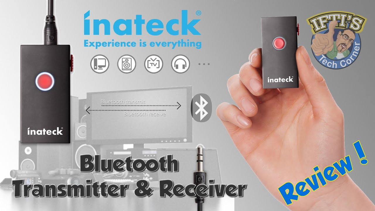 Inateck BR1002 - Bluetooth 3 0 Transmitter & Receiver - REVIEW