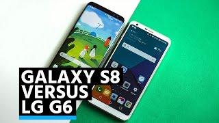 Confronto: Samsung Galaxy S8 vs. LG G6