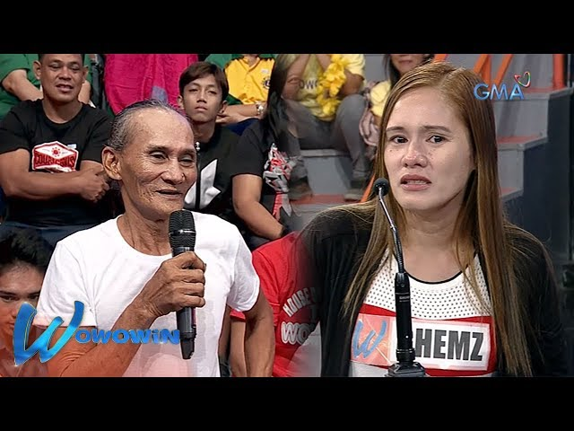 Wowowin: Senior high school graduate, napa-ibig ng isang senior citizen!