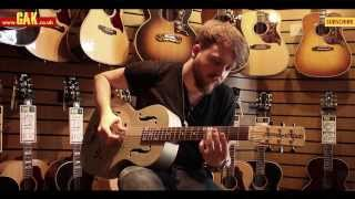 Gretsch - G9201 Honey Dipper Round-Neck Resonator Guitar Demo at GAK