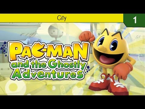 Pac-Man And The Ghostly Adventures 3DS: Introduction & City
