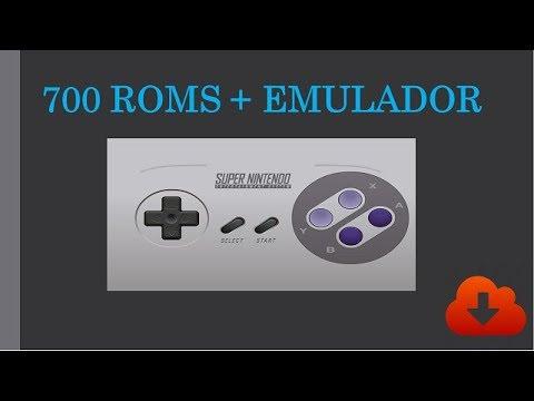Snes 700 roms + emulator