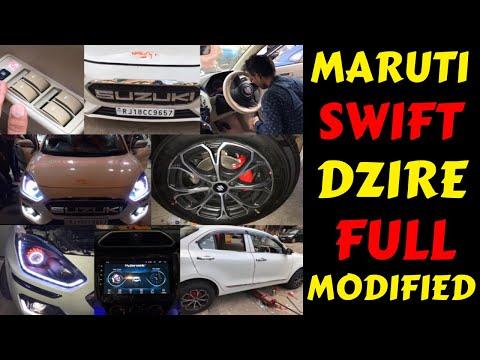 SWIFT DZIRE BASE MODEL CONVERTED INTO TOP MODEL | SWIFT DZIRE FULL MODIFICATION | Rahul Singh