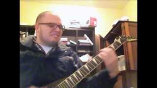 "Robert Palmer ""Addicted to Love"" Metal Guitar Cover"