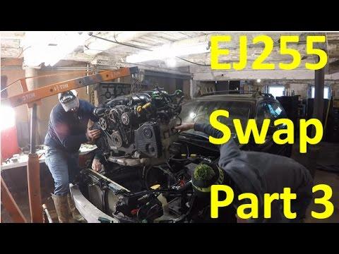 EJ255 DOHC Engine Swap | Subaru Outback XT Part 3