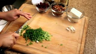 How To Make A Wheat Berry Salad - #5 - Chopping Green Onions — Appetites®