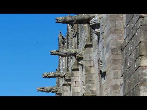 Dans les rues de Josselin (Morbihan)