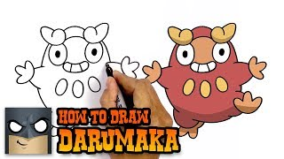 How to Draw Darumaka | Pokemon | Awesome Step-by-Step Tutorial