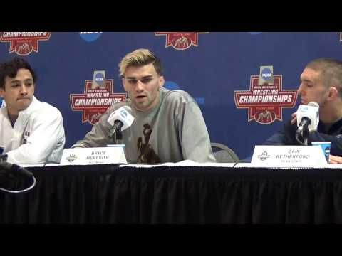 Wednesday's 2018 NCAA Championship Wrestler's Press Conference