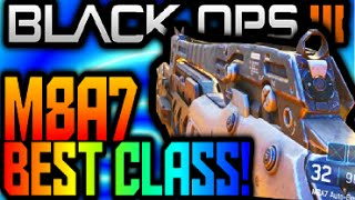 "Call of Duty Black Ops 3 ""M8a7"" BEST CLASS SETUP & REVIEW! Assault Rifle Create-a-Class &AR Gameplay"