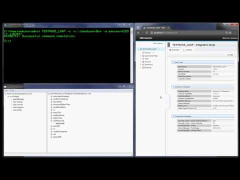 IBM Integration Bus and Administration Security with LDAP