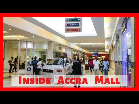 Ghana Vlog 2019 | Inside The Most Popular Mall In Ghana - Accra Mall