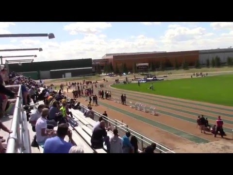 2016 High School Edmonton Zone: INT MENS 100m