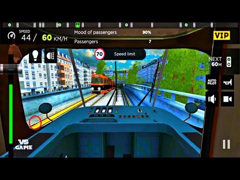tatra-t3-on-nordhills-line-|-subway-simulator-android-gameplay