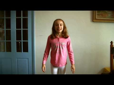 "Hana Chorley (10) recites ""The King's Breakfast"" by A. A. Milne, Jan 2014"