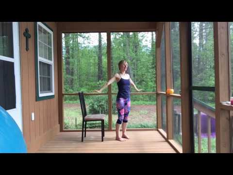12 Minute Travel Yoga with Chair