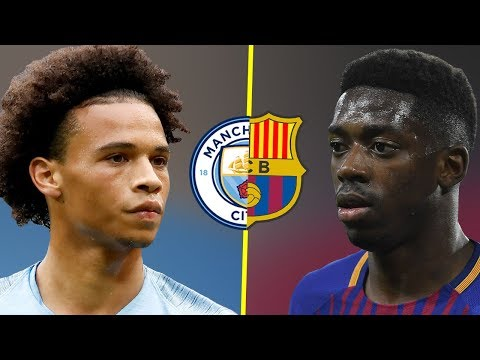 Leroy Sane VS Ousmane Dembele - Who Is The Best Talent? - Amazing Skills & Goals - 2018/19