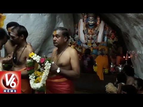 Summer Holidays: Devotees Rush At Komuravelli Mallanna Temple | Siddipet | V6 News