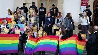 Pikieta LGBT w Lublinie