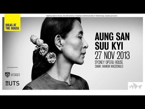 Ideas At The House: Aung San Suu Kyi - In Conversation (with Honorary Doctoral conferrals)