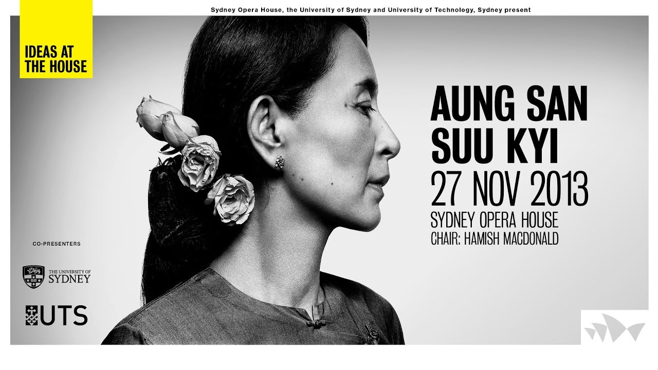 Ideas At The House Aung San Suu Kyi In Conversation With