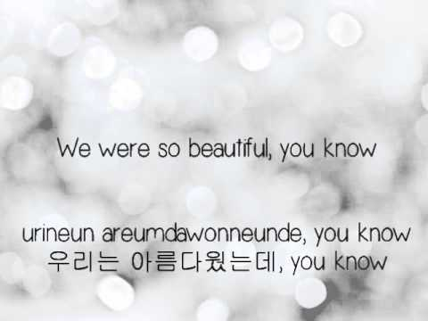 Big Bang- Love Song [Eng. | Rom. | Han.] lyrics