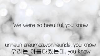Big Bang- Love Song [Eng.   Rom.   Han.] lyrics