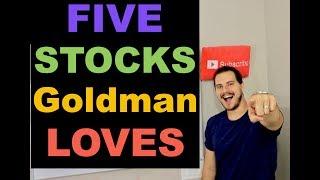 5 STOCKS GOLDMAN SACHS SAYS BUY NOW