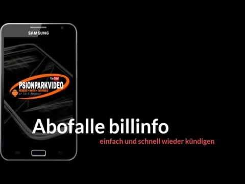 Abofalle billinfo kündigen - schnell und einfach