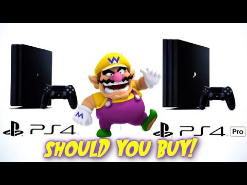 should you buy ps4 pro or ps4 slim games and wario youtube. Black Bedroom Furniture Sets. Home Design Ideas