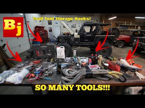 Ultimate Trail Tool Storage Guide! (What I Carry Off-Road)