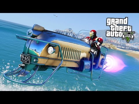 GTA 5 CRAZY VEHICLE MODS!! (GTA 5 Mods)