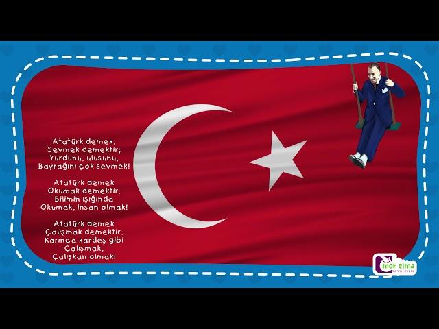 Atatürk - Şiir -  Okul Öncesi Eğitim