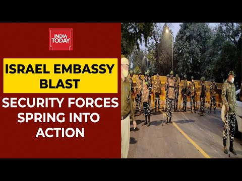 Israel Embassy Blast: Security Forces Action Mode, India Assures 'Fullest Protection' Of Diplomats