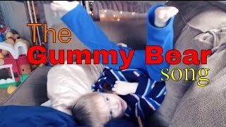 Autistic Toddler Sings Gummy Bears Song [Autism]