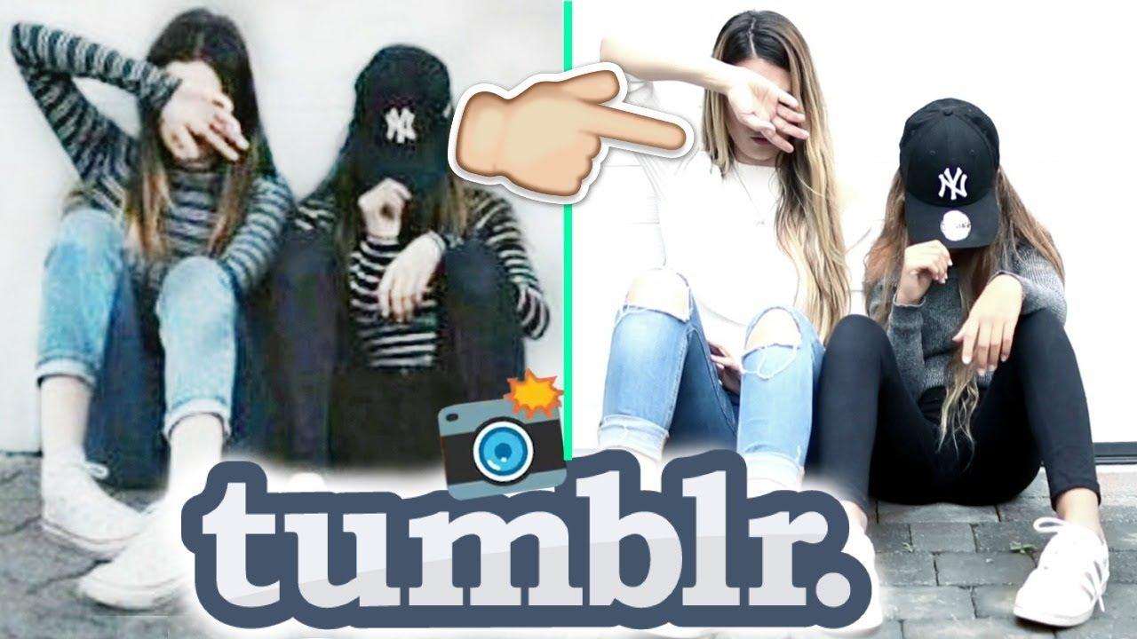 Imitando Fotos Tumblr De Amigas Con Ariann Y Dalas Lizy P Youtube