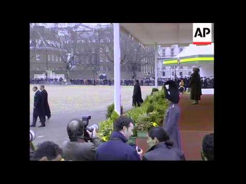 UK: LONDON: BRAZILIAN PRESIDENT FERNANDO HENRIQUE CARDOSO VISIT