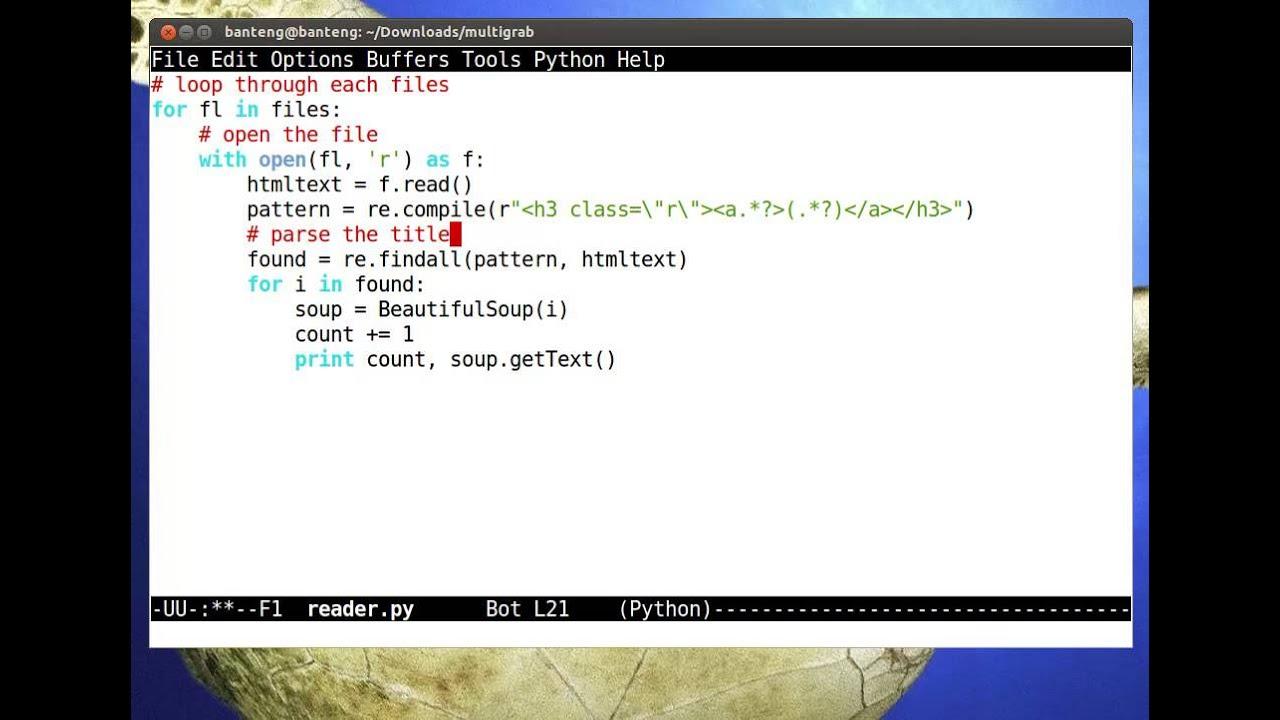 Python Tutorial - Google Scraper Thousands of URLs in Seconds