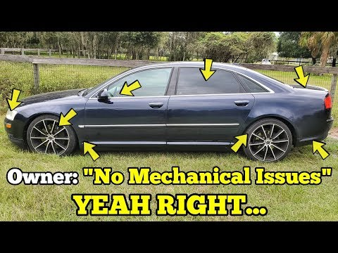 I Traded my JUNK Porsche Turbo for an Audi with 'No Mechanical Issues' IT FAILED ON ITS FIRST DRIVE!