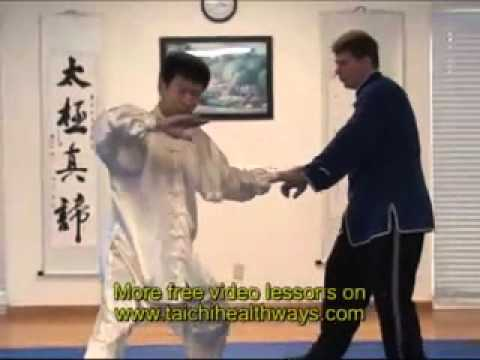 thai cuc quyen chien dau   Tai Chi Application for Self defense Fight in Chen taiji 1