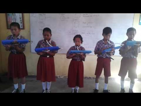 PLAYING PIANIKA LAGU WAJIB NASIONAL INDONESIA - SD N.6 MARTAPURA OKU TIMUR SUM-SEL