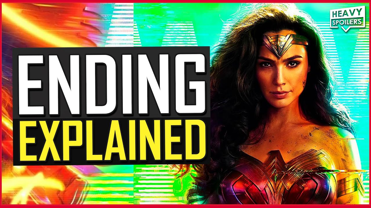 WONDER WOMAN 1984 Ending Explained | Full Movie Breakdown, Credits Scene, Easter Eggs & Review