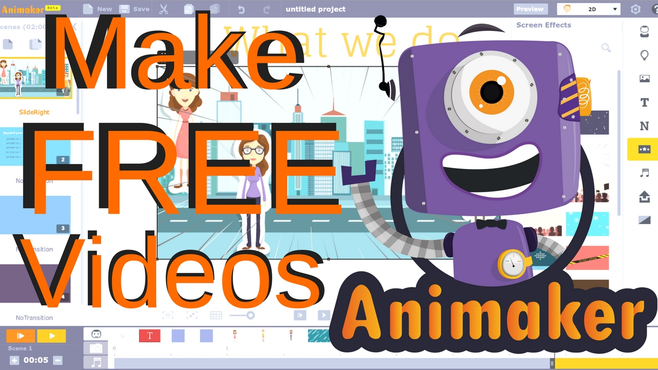 A Website To Make Videos For Free