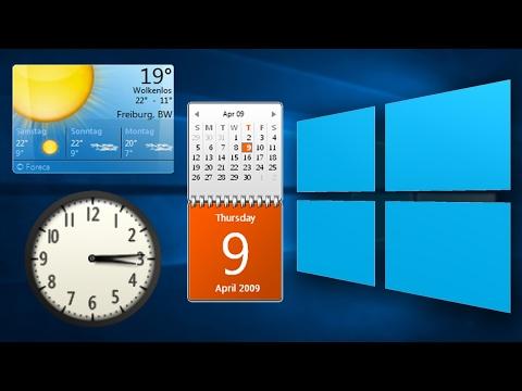 Get Windows 7 Gadgets In Windows 8-10!