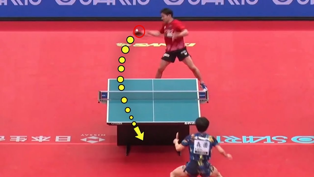 Crazy & Impressive Plays in Table Tennis [HD]