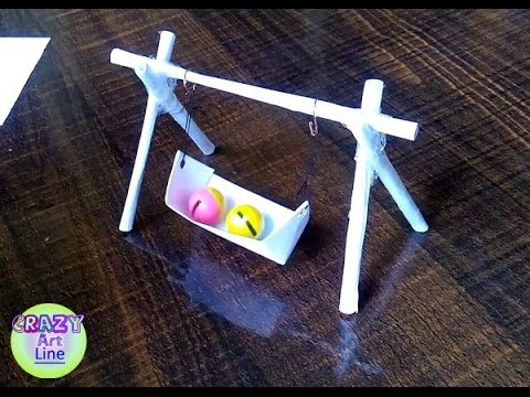 how to make a Mini Paper swing