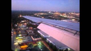 Delta McDonnell Douglas DC-9-50 Landing Atlanta at Dusk