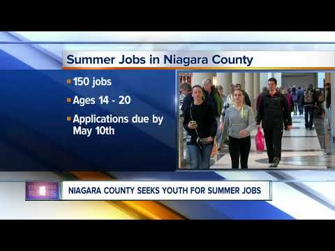 Summer jobs in Niagara County